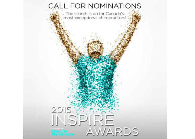 Canadian Chiropractor Inspire Award 2016