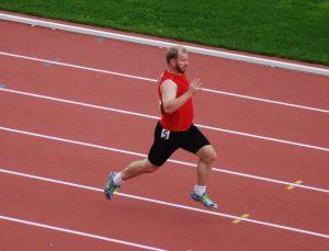 Dr. Erik still sprinting in his 40s